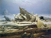 C.D.Friedrich, Das Eismeer / 1823 von AKG  Images