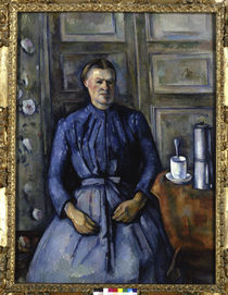 P.Cézanne / Woman with coffee pot by AKG  Images