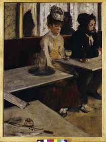Degas / Absinth / 1876 by AKG  Images