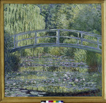 C.Monet, Seerosenteich (Harmonie verte) von AKG  Images