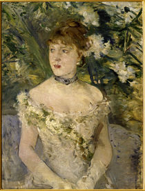 Morisot / Young woman in a ball gown/1879 by AKG  Images