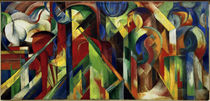 Franz Marc / Stables / 1913 by AKG  Images
