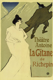 La Gitane / Poster / Toulouse-Lautrec by AKG  Images