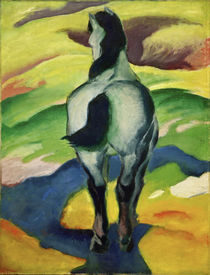 Marc / Blue horse II / 1911 by AKG  Images
