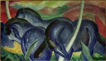 Franz Marc / Large Blue Horses, 1911 by AKG  Images