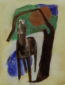 Franz Marc, Moaning horse by AKG  Images
