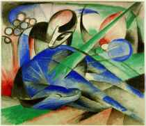Franz Marc, Dreaming horse by AKG  Images