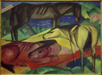 Franz Marc / Three Horses II / 1913 by AKG  Images