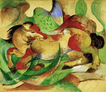 Franz Marc, Jumping horse by AKG  Images
