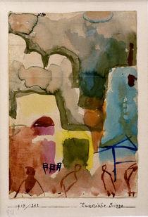 P.Klee, Tunesische Scizze / Watercolour by AKG  Images