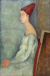 A.Modigliani, Jeanne Hebuterne sitzend by AKG  Images