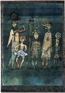 Paul Klee, Masks / Watercol./ 1923 by AKG  Images