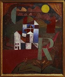 Klee, Villa R. / Gemälde/1919 von AKG  Images