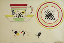 Design for a Milk Cup / W. Kandinsky / Watercolour c.1920 by AKG  Images