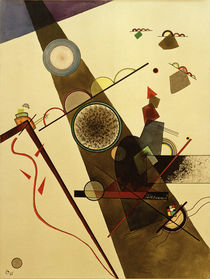 Brown Ray / W. Kandinsky / Watercolour 1924 by AKG  Images