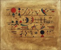 W.Kandinsky / Rows of Symbols by AKG  Images