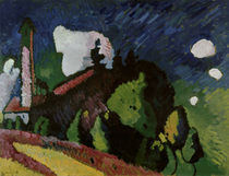 Kandinsky / Landscape with Tower / 1908 by AKG  Images
