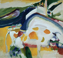 Kandinsky / The Cow / Painting / 1910 by AKG  Images