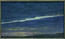 Caspar David Friedrich, Evening / Paint. by AKG  Images