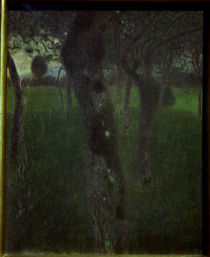 Gustav Klimt, Obstgarten am Abend von AKG  Images