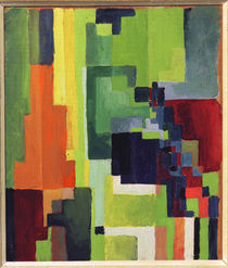 August Macke, Coloured Shapes II, 1913 by AKG  Images
