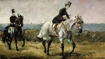 Toulouse-Lautrec, Amazone & Groom / 1880 by AKG  Images