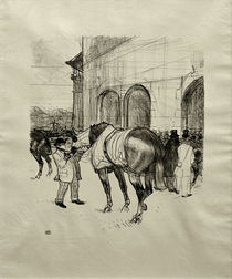 Toulouse-Lautrec, Le Paddock / Litho./ 1899 by AKG  Images