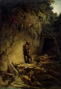 C.Spitzweg / The Miner / Paint./ 1849/54 by AKG  Images
