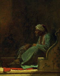 Carl Spitzweg, Seated Turk by AKG  Images