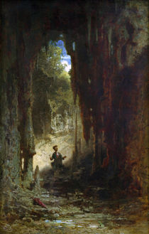 Spitzweg / The Mineralogist / Painting by AKG  Images
