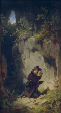 Carl Spitzweg, The Geologist by AKG  Images