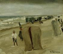 Max Liebermann, Beach with beach chairs by AKG  Images