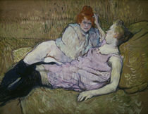 Toulouse-Lautrec / The Sofa / Painting by AKG  Images