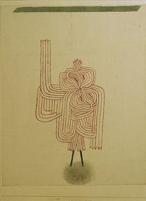 P.Klee, Gespenster-Schwur (Ghost) /1930 by AKG  Images