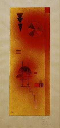 W.Kandinsky, Ohne Titel (Kreis u. Treppe) von AKG  Images