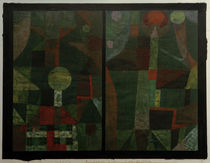 P.Klee, Landscape in Green / 1922 by AKG  Images
