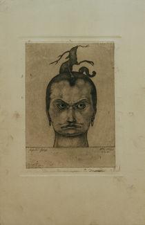 P.Klee, Drohendes Haupt (Menacing Head) by AKG  Images