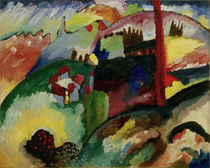 W.Kandinsky / Landscape with Chimneys by AKG  Images