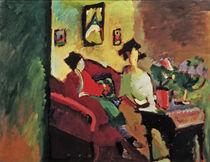 Kandinsky, Interieur m. Münter u. Werefkin von AKG  Images