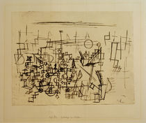 P.Klee, Crowd in the Harbour / 1927 by AKG  Images