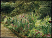 Liebermann / Wannsee Garden / Painting by AKG  Images