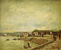 Alfred Sisley / Seine at Daybreak by AKG  Images