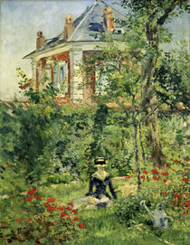 Manet / Garden of Bellevue / 1880 by AKG  Images