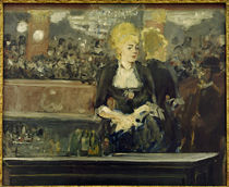 E.Manet, Bar in the Folies-Bergère by AKG  Images