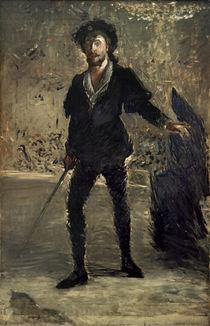 A. Thomas, Hamlet, Rollenbild Faure / Manet von AKG  Images