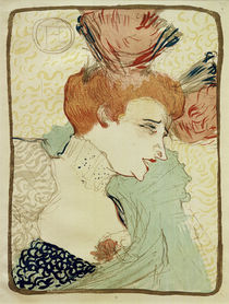 Mademoiselle Marcelle Lender / Toulouse-Lautrec / Lithograph 1895 by AKG  Images
