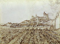 V. van Gogh, Blick auf Saintes-Maries von AKG  Images