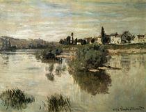 C.Monet, Die Seine bei Lavacourt von AKG  Images
