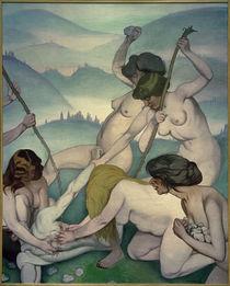 Felix Vallotton, Orpheus und die Mänaden by AKG  Images