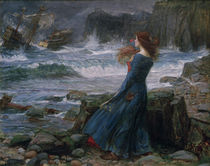 Shakespeare, Der Sturm / Waterhouse von AKG  Images